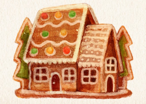 Gingerbread House Decorating: After Dark