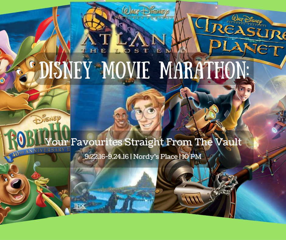 Disney Movie Marathon: Your Favourites Straight From the Vault