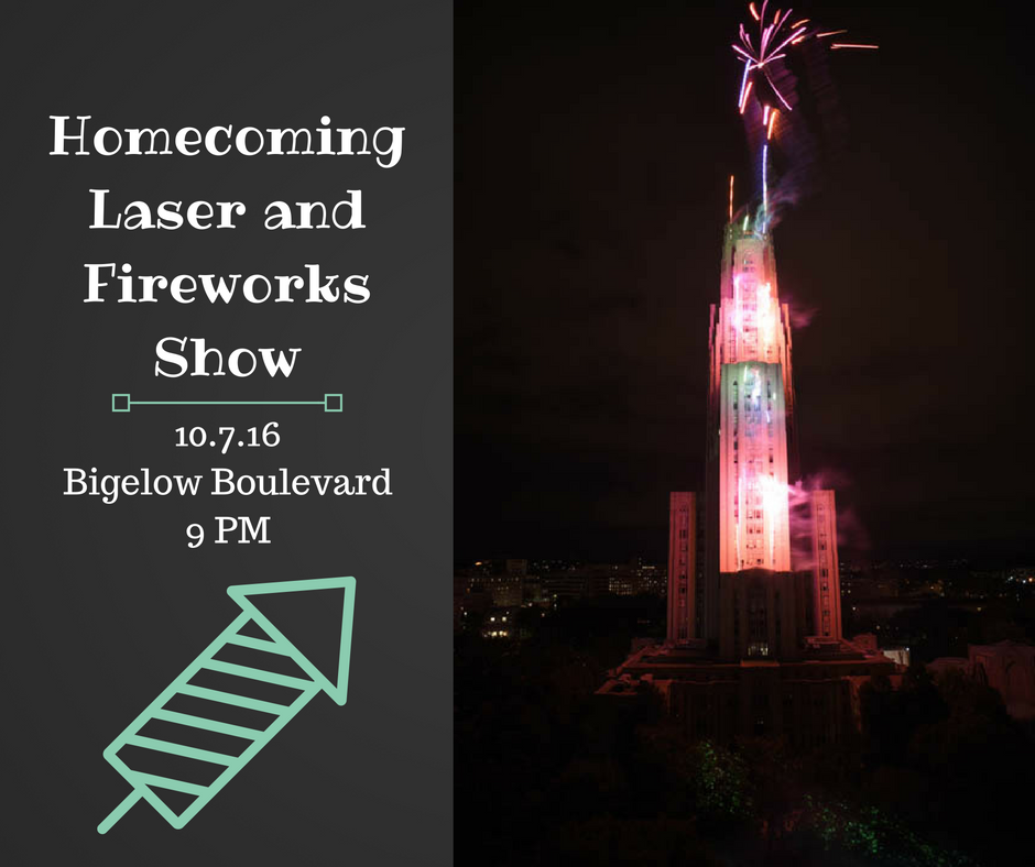 Homecoming Laser and Fireworks Show