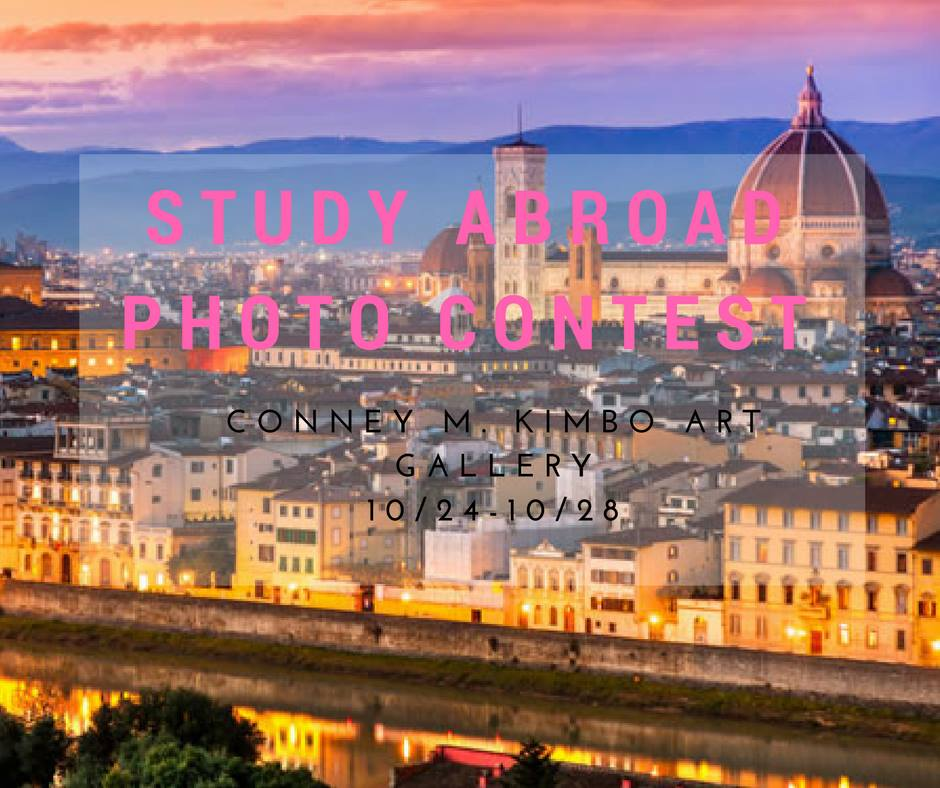 Study Abroad Photo Contest