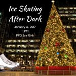 Ice Skating After Dark