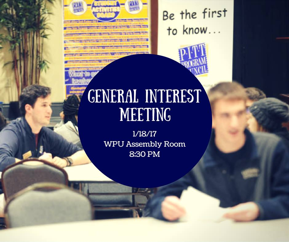 General Interest Meeting
