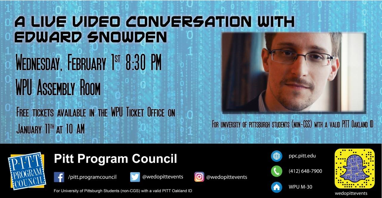 A Live Video Conversation with Edward Snowden