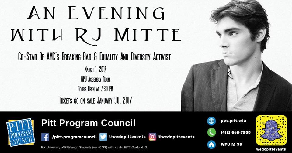 An Evening with RJ Mitte