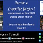 Committee Director Applications