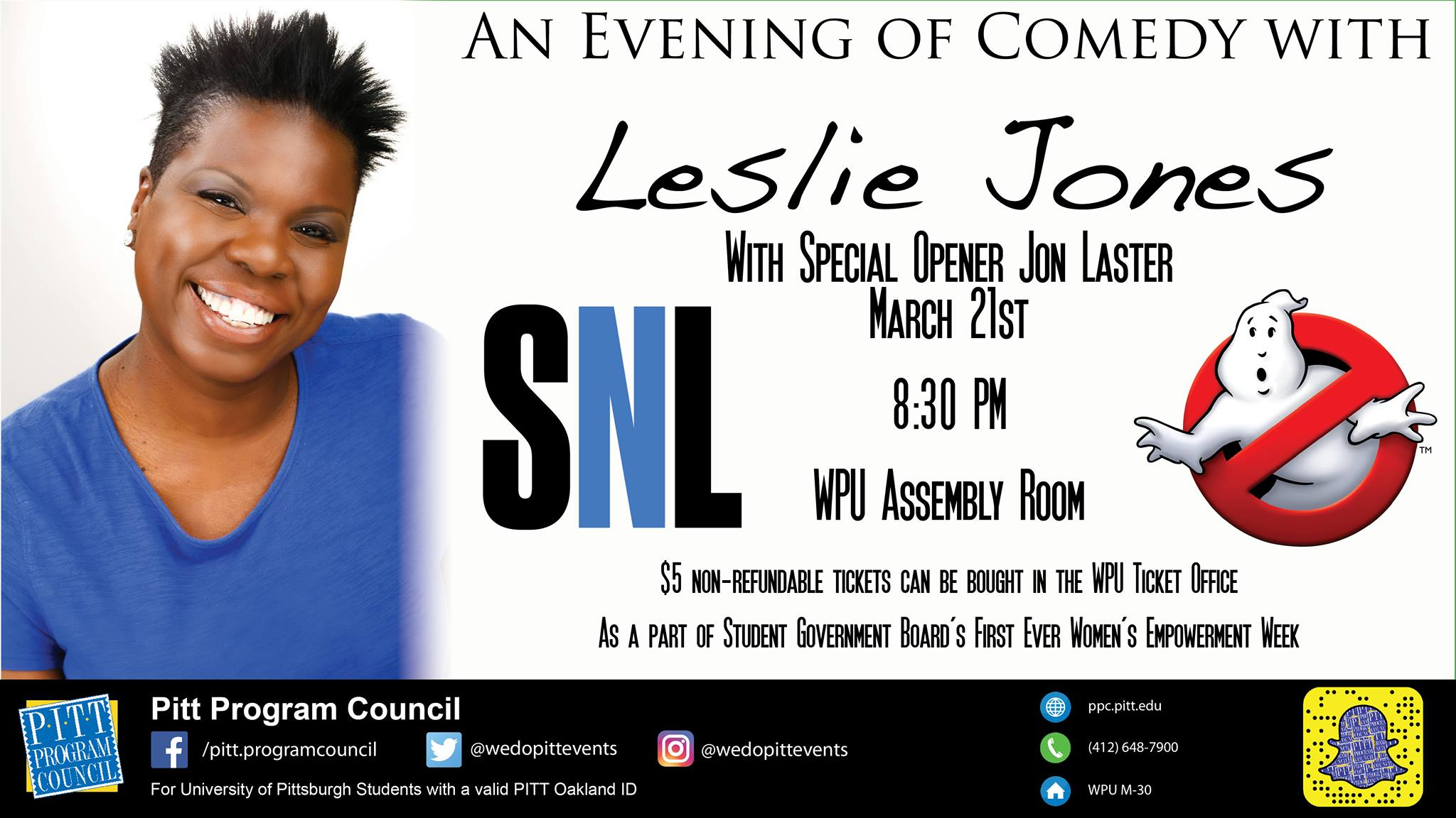 An Evening of Comedy with Leslie Jones