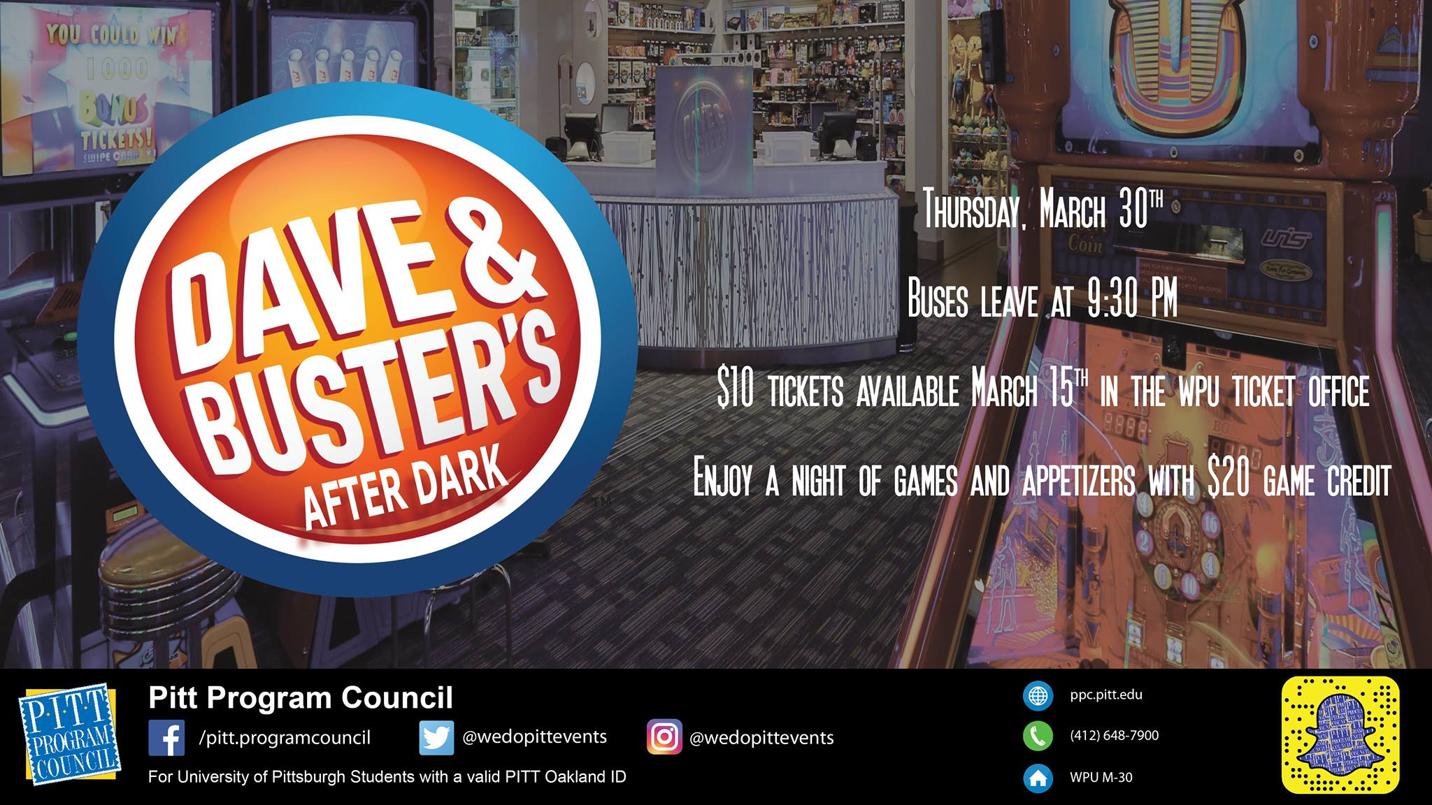 Dave and Buster's After Dark