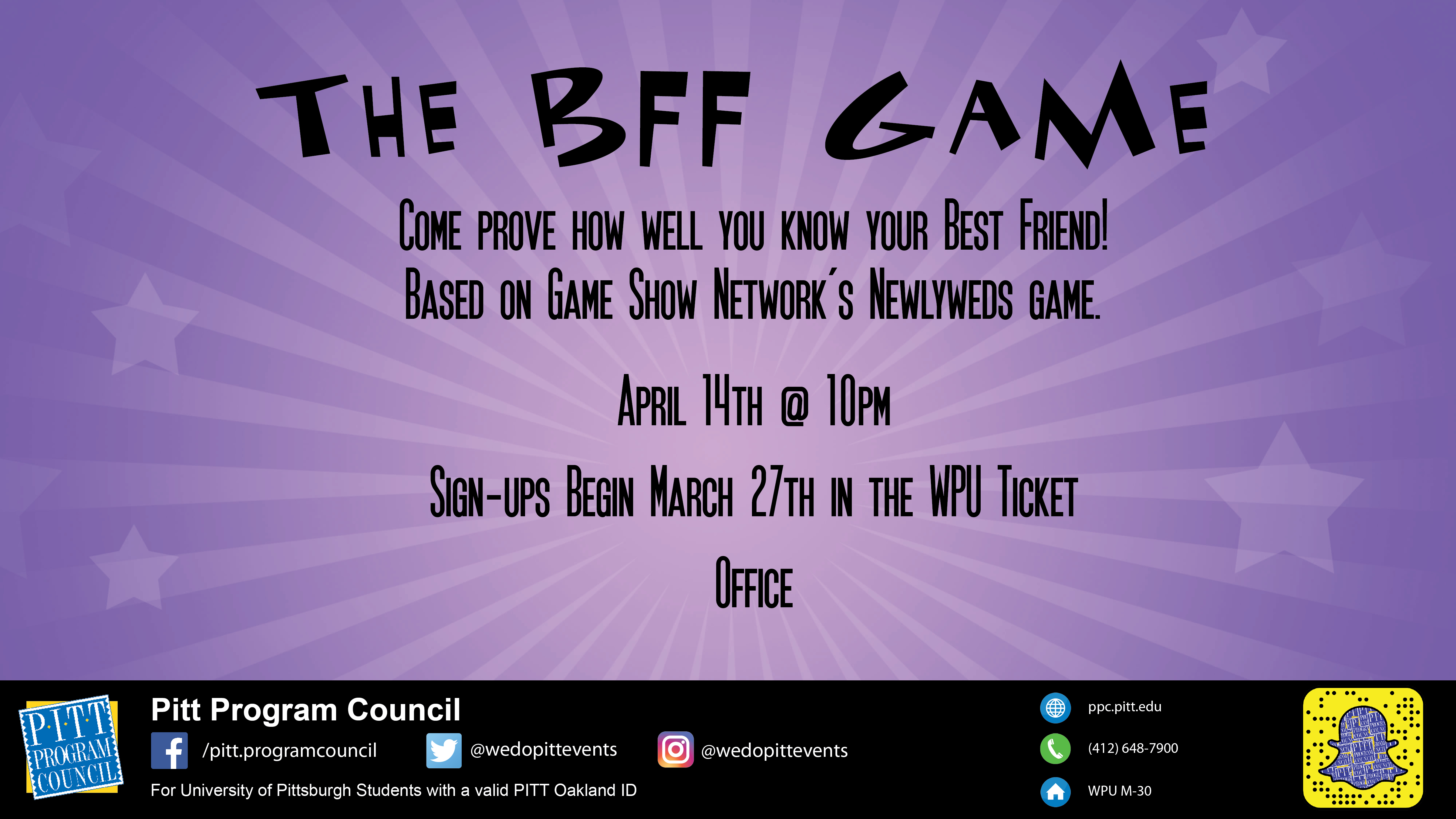 The BFF Game